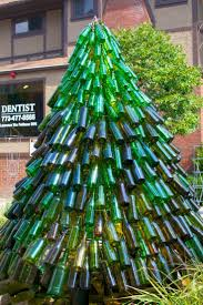 Christmas Tree Disposal Bags Walmart by 25 Best Wine Bottle Christmas Tree Ideas On Pinterest Christmas