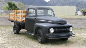 100 Flat Bed Truck For Sale 1951 FORD F3 FLATBED TRUCK
