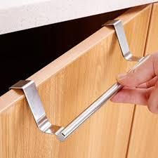 edelstahl handtuchhalter rack schrank kleiderbügel küchenhaken bad klein silber