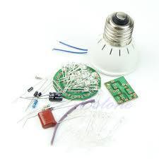 e79 1 set energy saving light 38 leds ls diy kits electronic