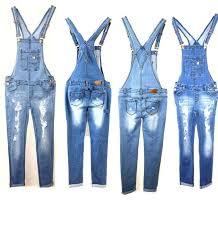 women denim jeans overall destroy long skinny pants jumper ripped