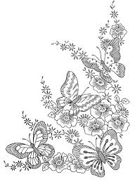 To Print This Free Coloring Page Adult Difficult Butterflies
