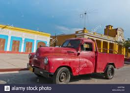 100 Colonial Truck Trinidad Cuba Old Red Truck Old Colonial Town With Colorful School