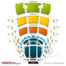 houston ballet seating chart