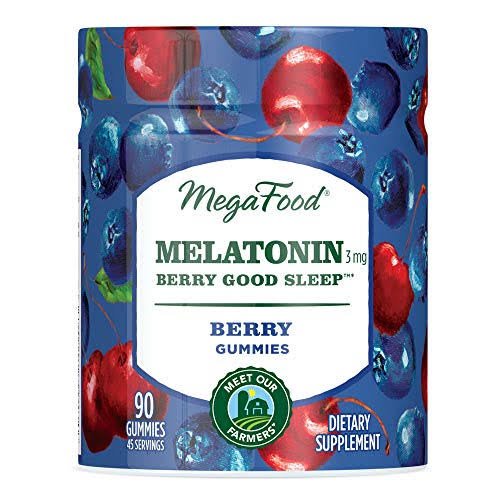 MegaFood - Melatonin Berry Good Sleep - 90 Gummies
