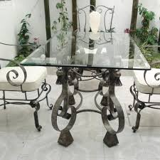 Glass And Wrought Iron Kitchen Table Sets | Kitchen Chair ... Encore Fniture Gallyhooker Wrought Iron Fascating Table Set Off Glass And Gold Ding Table Iron Worldpharmazoneco And Chairs Outdoor Ding Room Indoor Wrought Room Sets Chairs Adrivenlifecom Arthur Umanoff Somette Round Top Beautiful Best My Blog Dinette Zef Jam Hutchsver High Stools 9 Pieces