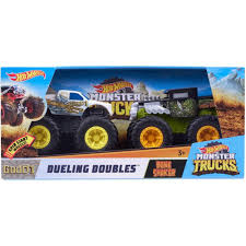 100 Monster Trucks Crashing Hot Wheels Dueling Doubles Bone Shaker Vs Good 1