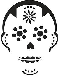 Nerdy Pumpkin Stencils by Easy Sugar Skull Pumpkin Pattern Free Pumpkin Patterns