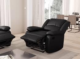 canapé 1 place fauteuil relaxation 1 place simili cuir detente usinestreet fr