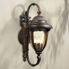 bellagio 27 1 2 high arm outdoor wall light 03755