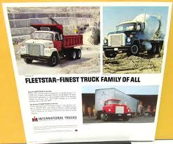 1970 International IH Fleetstar-A Dealer Sales Brochure 2000 A 2100 ...