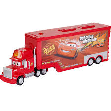 100 Cars Mack Truck Playset DisneyPixar Hauler 2in1 Character Vehicle