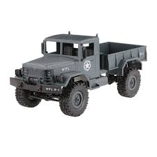 WPL B-14 1/16 2.4GHz 4WD RC Crawler Off-road Military Truck Car With ...