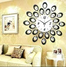 Unique Wall Clocks For Living Room Decoration Clock Home Modern Design Large