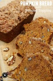 Libbys Pumpkin Bread Kit Instructions by Pumpkin Bread With Streusel Topping Hoosier Homemade