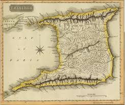 1816 Map Of Trinidad