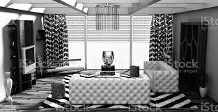 futuristische wohnzimmer interior stockfoto und mehr bilder abstrakt