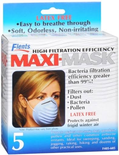 Flents High Filtration Efficiency Maxi-Mask