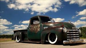 100 1950 Chevrolet Truck Pickup Patina Shop Air Bagged Air Ride AC