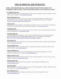 48 Fresh Resume Truck Driver Sample - Awesome Resume Example ...