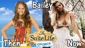 the suite life on deck then and now youtube