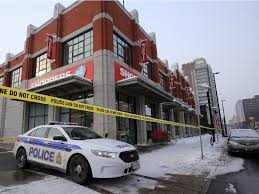 shoppers mart rideau centre seeking suspects after and a stabbing in lowertown