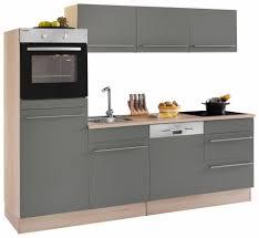optifit küchenzeile bern ohne e geräte breite 240 cm mit