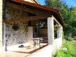 cuisine d ete couverte terrasse couverte barbecue 1 idées maison terrasse