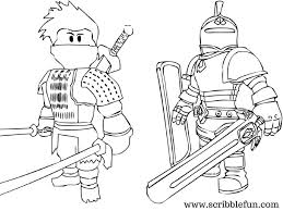Magic Roblox Coloring Pages