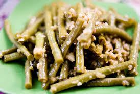 cuisiner des haricots verts recette haricots verts à l ail recettes asiatiques