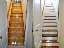 replacing carpet on stairs