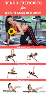The Power Of Bench Exercises For Weight Loss In Women Bench