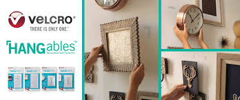 Its Never Been Easier To Hang Frames And Create Wall Collages New VELCROR Brand HANGablesTM Removable Fasteners Are The Perfect Way Decorate