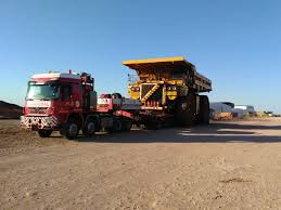100 Martinez Trucking ALE Moves Mining Trucks Across South Africa Heavy Lift
