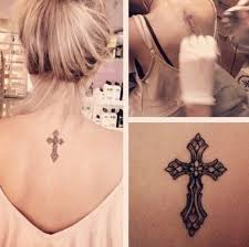 Small Cross Tattoos For Women
