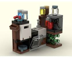 lego moc mini küche small kitchen by fidi70 rebrickable