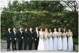 Garden Chic Rustic Wedding Bridal Party Powder Blue