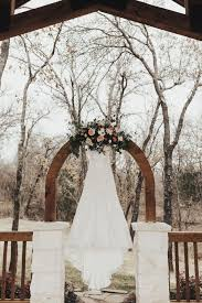 simple wedding arch decor peach wedding decor