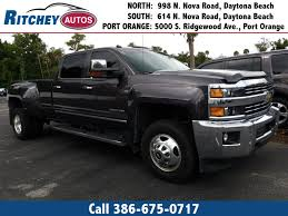 100 Pickup Trucks For Sale Under 5000 Used 2015 Chevrolet Silverado 3500HD LTZ Near Port Orange FL