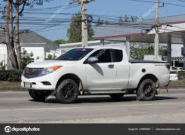 100 Pro Stock Truck Private Pickup Car Mazda BT50 Editorial Photo