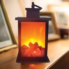 led kamin flamme laterne len simulierte kamin lame len wirkung glühbirne ort ornamente für home wohnzimmer decor