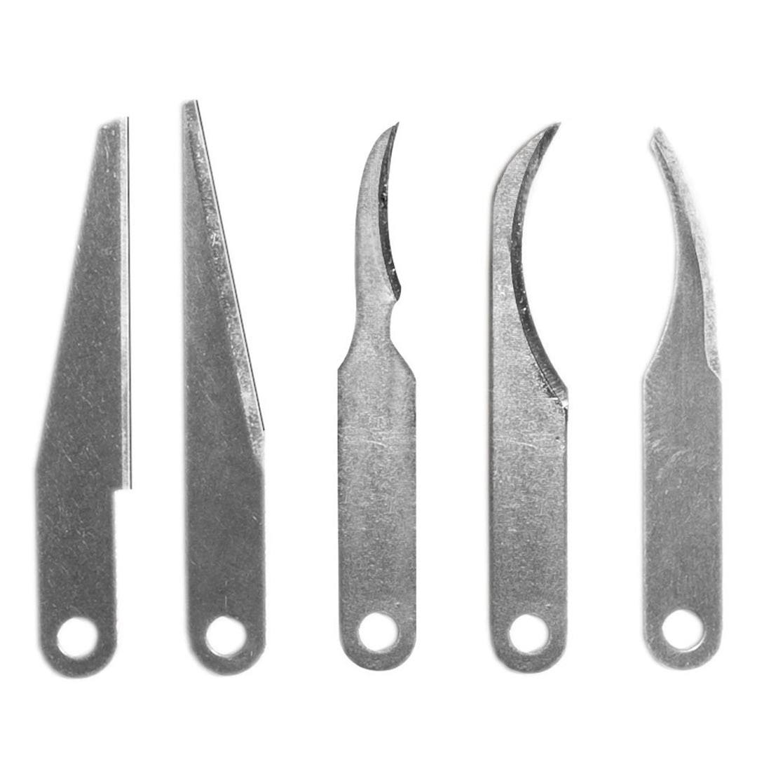 Excel Exl20108 Carving Blades - 5pcs, Assorted