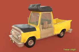 100 Knight Truck ArtStation Stylized Trevor