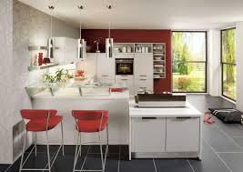 cuisine avec snack bar cuisines ouvertes avec bar cuisine plan snack surhausse 5163335