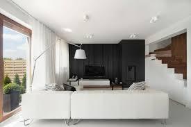 wohnung einrichten wohnideen in schwarz weiß