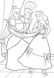 65 Best Coloring Pages Cinderella Images On Pinterest