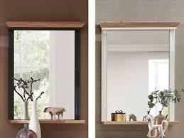 deko spiegel aus eiche mit ablage günstig kaufen ebay