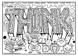 Stunning Design Coloring Pages For Middle School Free Printable Students