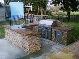 Decoration Stunning Lowes Outdoor Kitchen With Regard To Island