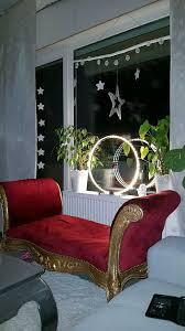 barock sofa gold rot alt deko